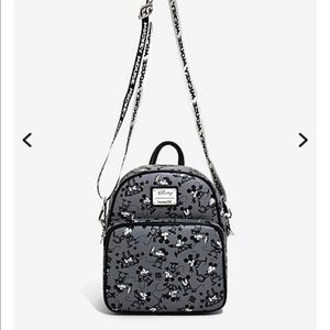 Mickey Mouse Loungefly black and white backpack